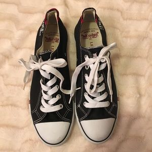 Levi's Canvas Sneakers Sz 12